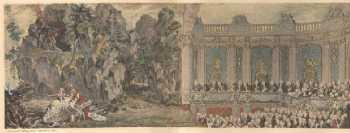 Madame de Pompadour en Galatée - Cochin