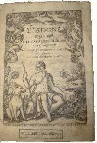 L'Adone del Cavalier Marino
