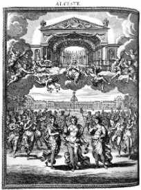 Frontispice d'après Chauveau - 1674
