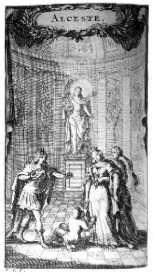 Alceste - dessins de Frantz Ertinger