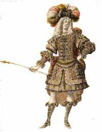 Costume de berger (Berain)