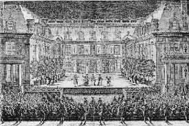 Représentation d'Alceste dans la Cour de Marbre