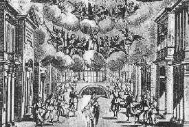 Décor du Bernin - scène finale