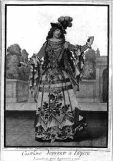 Actrice et danseuse espagnole