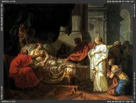 Antiochus und Stratonica, par David - 1774