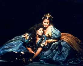 Benita Valente (Ginevra), Janice Hall (Dalinda)
