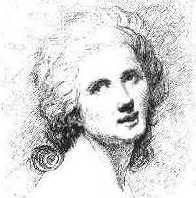 Sophie Arnould - Gravure de François Flameng  en frontispice de l'édition de 1877 chez Dentu