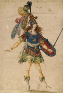 Louis XIV au bouclier