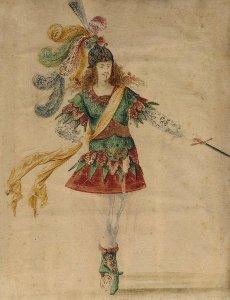 Louis XIV à l'épée