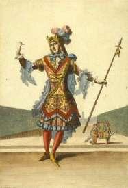 Habit d'Andimion - Jean Dolivar d'après Berain