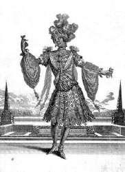 Habit de l'Indien - Jacques Le Pautre d'après Berain