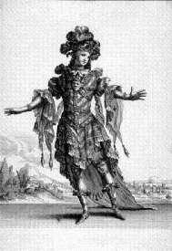 Habit représentant le Mistere - Jacques Le Pautre d'après Berain