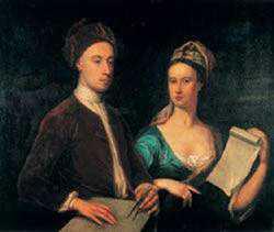 Lord Burlington et son épouse en 1723