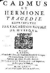 Frontispsice de l'édition Ballard de 1673