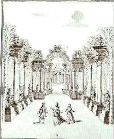 Décor de Bérain pour l'acte II