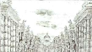 Décor de Vigarani pour l'acte II