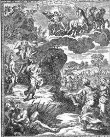 Frontispice pour Cadmus et Hermione, dessiné et gravé par François Chauveau