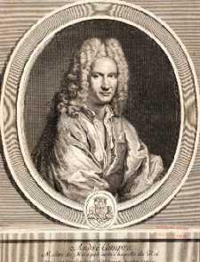 André Campra - gravure par Nicolas Etienne Edelinck