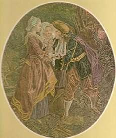 Le Devin du village - Beauvarlet, graveur du Roi