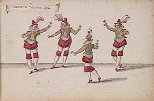 Danseurs de Sarabande - Daniel Rabel