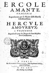 Ercole amante - livret - 1662