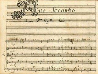 Ercole amante - partition - acte II