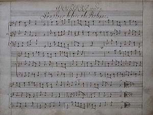 Erismena - manuscrit anglais