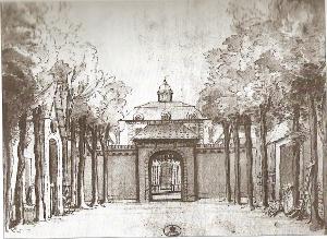 Les Jardins du sérail - décor - Atelier Bérain