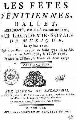 Livret de 1759