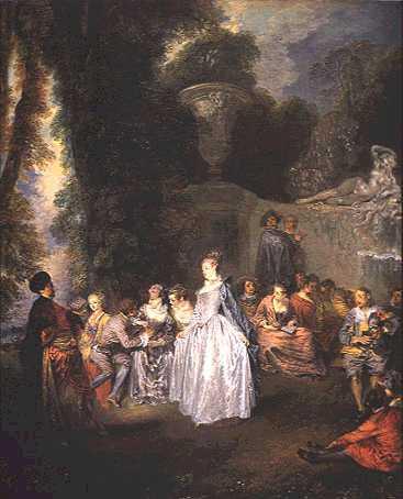 Fêtes vénitiennes - Watteau
