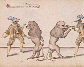 Entrée des Laquais et des Singes