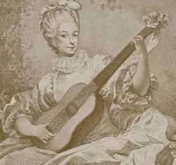 Marie Madeleine Guimard par Fragonard