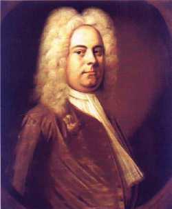 Haendel en 1727
