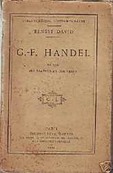 G.-F. Handel - Ernest David
