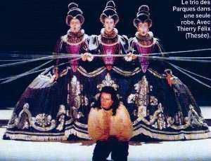 Hippolyte et Aricie à l'Opéra de paris