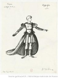 Costume pour Hippolyte - P. L. Pizzi