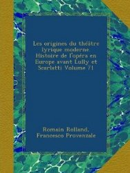 Histoire de l'Opéra en Europe - Ulan Press