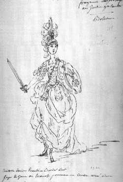 Bellonne en 1761