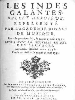 Gravure de 1743