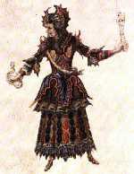 Costume de Berain pour Erinnie