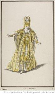 Ismène - costume pour Grand Sacrificateur