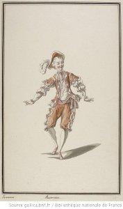 Ismène - costume pour Pantomime