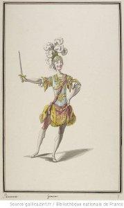 Ismène - costume pour Guerriers