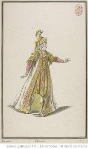 Ismène - costume pour Isménias