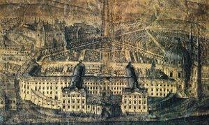 Le château de Jaromerice vers 1700