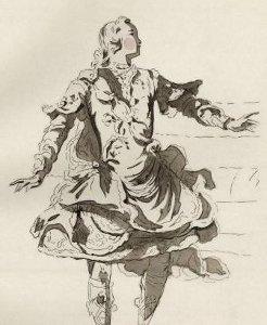 Costume de Pigmalion pour Jélyotte