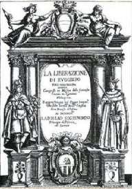 Page de titre de la partition de 1625