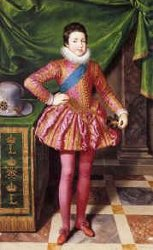 Louis XIII enfant