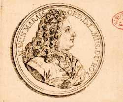 Médaille en bronze doré par S. Curé - 1728