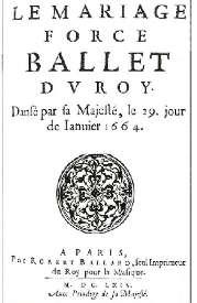 robert ballard 1664 - Le Mariage Forc Rsum